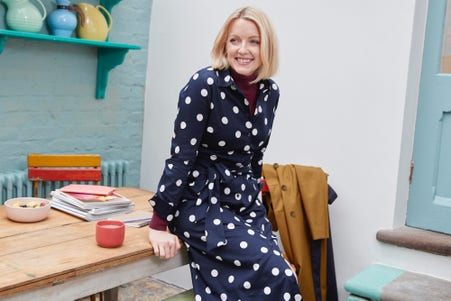 Lauren Laverne one dress three ways