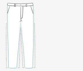 Men's Pants Fit Guide