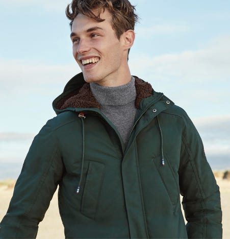 Men's winter clothes