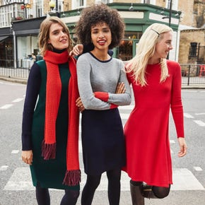 Women's Knitted Dresses