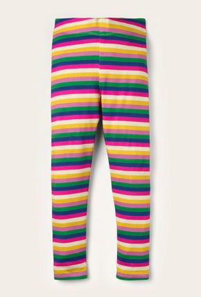 Fun Leggings - Shocking Pink/ Lupin Purple