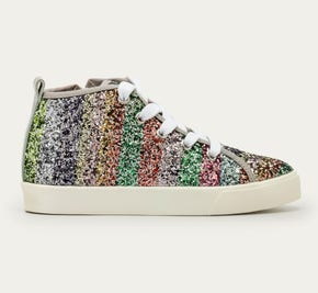 Rainbow Glitter High Tops