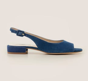 Ivy Low Heel Slingbacks