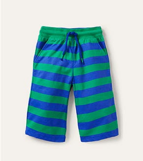 Jersey Baggies - Brilliant Blue/Sapling Green