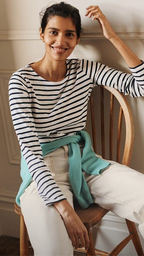 Three Ways To Wear a Classic Breton Top | Boden UK