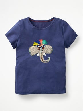 Crochet Animal T-Shirt