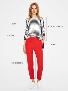 Women s size and fit chart boden